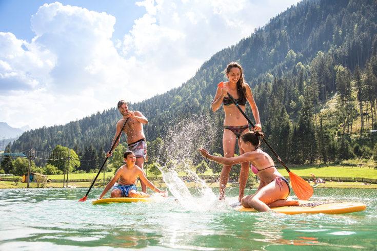 Badesee Flachau - Ausflugsziele im Salzburger Land