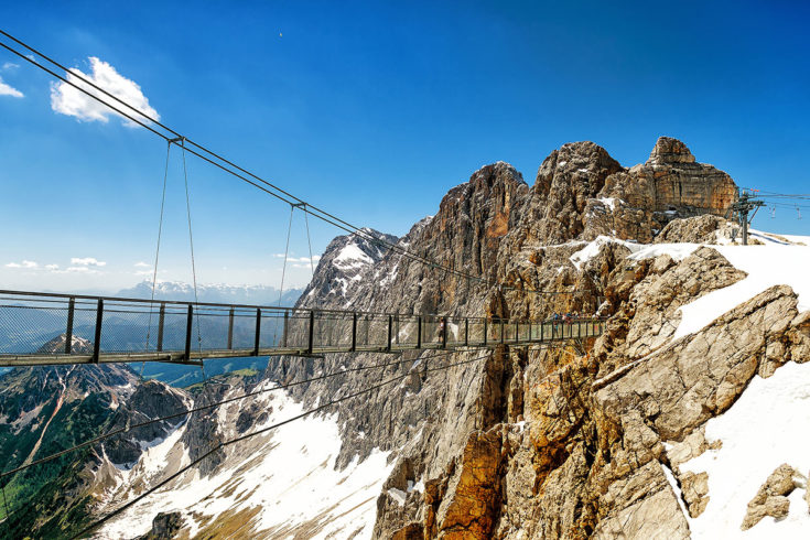 Dachstein-Gletscher - Ausflugsziele in Österreich, Steiermark