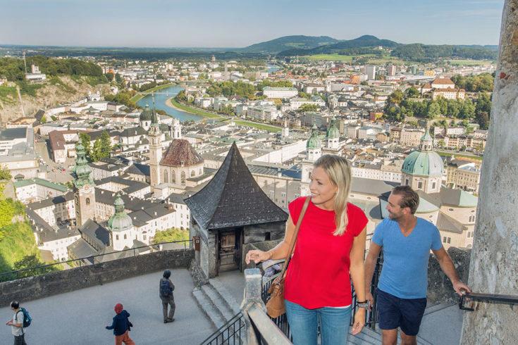 Festung Hohensalzburg - Ausflugsziele im Salzburger Land