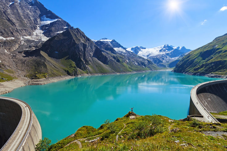 Hochgebirgsstausee Kaprun - Ausflugsziele im Salzburger Land