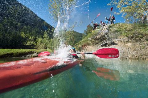 Kajak - Sommerurlaub in Flachau, Salzburger Land