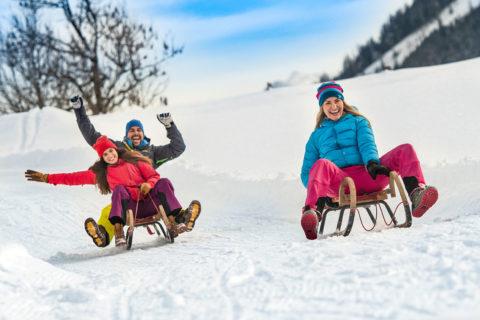 Rodeln - Winter- & Skiurlaub in Flachau, Ski amadé