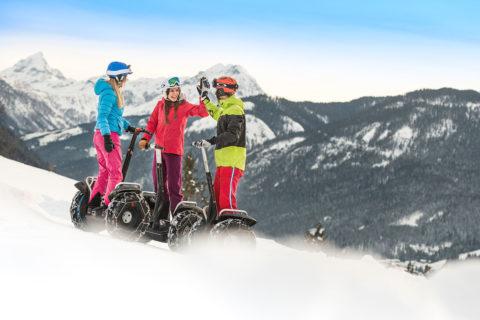 Segway fahren - Winter- & Skiurlaub in Flachau, Ski amadé